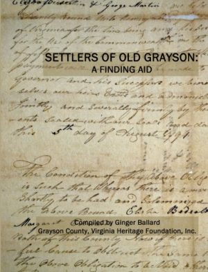 Settlers of Old Grayson: A Finding Aid
