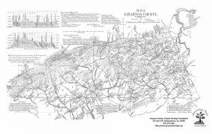 1897 Grayson County Map